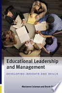 Educational Leadership and Management