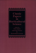 Classic Papers in Horticultural Science