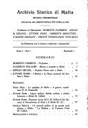 Archivio storico di Malta