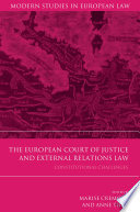 The European Court of Justice and External Relations Law