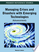 Managing Crises And Disasters With Emerging Technologies Advancements