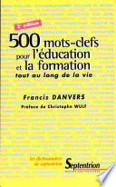 500 mots clefs pour l   ducation et la formation tout au long de la vie