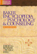 Baker Encyclopedia of Psychology   Counseling