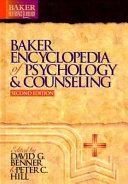 Baker Encyclopedia Of Psychology Counseling