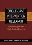 Single Case Intervention Research