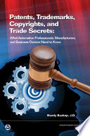 Patents, Trademarks, Copyrights, and Trade Secrets