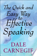 Book The Quick and Easy Way to Effective Speaking