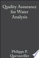 Quality Assurance For Water Analysis book