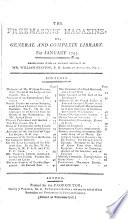 Freemason s Magazine  Or General and Complete Library