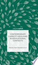 Contemporary Capacity Building in Educational Contexts