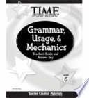 Grammar Usage And Mechanics Guide