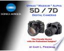 Konica Minolta Dynax Maxxum Alpha 5d 7d Digital Cameras