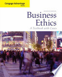 Cengage Advantage Books  Business Ethics  A Textbook with Cases