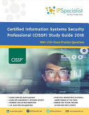 Isc 2 Cissp Certified Information Systems Security Professional Study Guide 2018