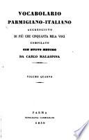 Vocabolario parmigiano italiano accresciuto di pi   che cinquanta mila voci