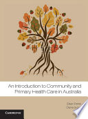 An Introduction To Community And Primary Health Care In Australia