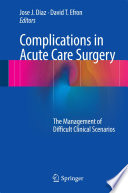 Complications in Acute Care Surgery