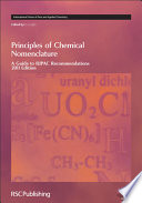 Principles of Chemical Nomenclature