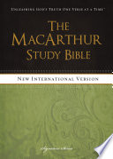 NIV  The MacArthur Study Bible  eBook