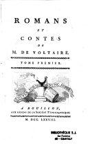 Voltaire, romans et contes