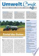 Zeitschrift UmweltBriefe Heft 02 2015