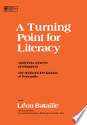 A Turning Point for Literacy