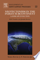 Neotectonism in the Indian Subcontinent