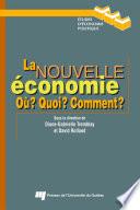 illustration du livre La nouvelle économie