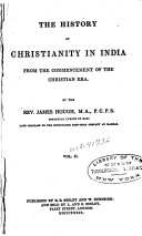 The History of Christianity in India