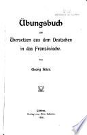 bungsbuch zum   bersetzen aus dem deutschen in das franz  sische