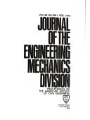 Journal of the Engineering Mechanics Division
