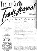 Ice Cream Trade Journal : ...
