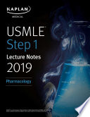 Usmle Step 1 Lecture Notes 2019 Pharmacology