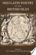 Neo Latin Poetry in the British Isles