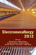 Electrometallurgy 2012 book