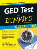 GED Test For Dummies  Quick Prep