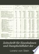 Zeitschrift für Eisenbahnen und Dampfschiffahrt der österreichische-ungarischen Monarchie