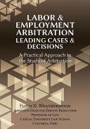 Labor Employment Arbitration