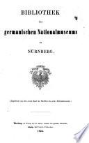 Bibliothek des Germanischen nationalmuseums zu N  rnberg