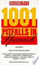 Barron s 1001 Pitfalls in Spanish