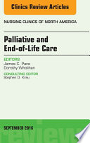 Palliative and End of Life Care  An Issue of Nursing Clinics of North America