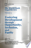 The World Bank Legal Review  Volume 5