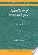 Handbook of Herbs and Spices Of Herbal Spices; Herbs And