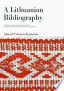 A Lithuanian Bibliography