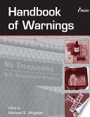 Handbook of Warnings