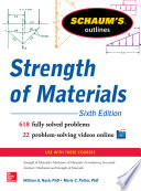 Schaum   s Outline of Strength of Materials  6th Edition