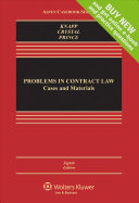 Looseleaf  Problems in Contract Law  Cases and Materials 8e