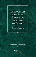 Introductory Accounting, Finance, and Auditing for Lawyers