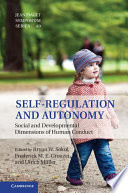 Self-Regulation and Autonomy Health And Well Being In Several Areas Of Psychology