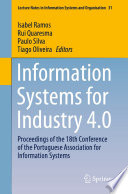 Information Systems For Industry 4 0